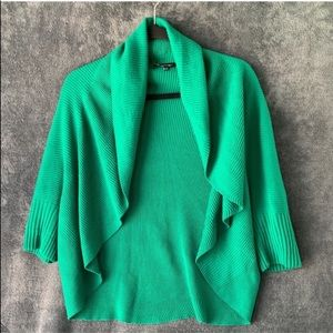 Lafayette 148 New York Open Cardigan Green